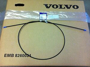 GENUINE VOLVO S40 V40 BONNET RELEASE CABLE 30865805 BRAND NEW