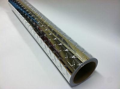 Heavy-duty Plastic Diamond Plate Sheeting, Self-adhesive, 12 X 12 Inch, 2 Sheets