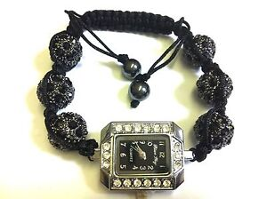 Shamballa Bracelet Watch New Style & Design Crystal Beads
