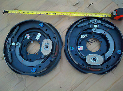"""(2) Trailer 12"""" x 2"""" Electric Brakes Assembly 7000 # Axle Left Right Dexter PAIR"""
