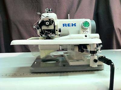 Rex Rx-518 Industrial Portable Blindstitch Sewing Machine