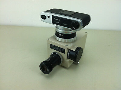 Olympus C-35ad-4 Camera With Pm-10ak Microscope Interface