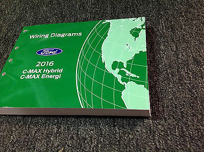 2016 Ford C-Max Hybrid C-Max Energi Electrical Wiring Diagram Manual OEM Factory, used for sale  Shipping to United Kingdom