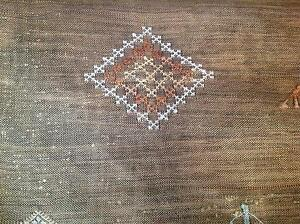 Berber silk and cotton rug/Kilim / wall hanging Joondalup Joondalup Area Preview