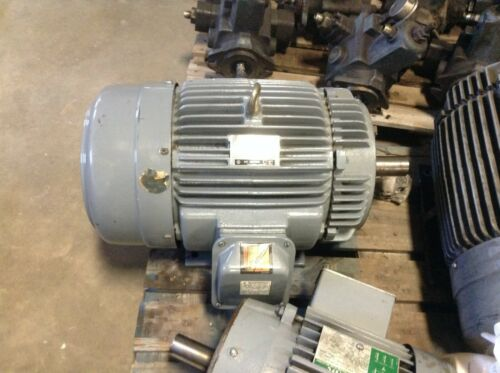 GE General Electric 5KE254KC205B 15 HP 1760 RPM 230/460 VAC AC Motor 254TCY