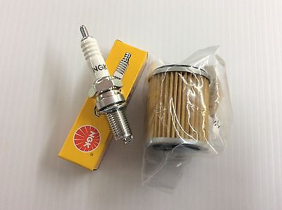 Oil  Filter Air Filter Wolverine 350 YFM YFM350F Yamaha Tune up kit Spark Plug