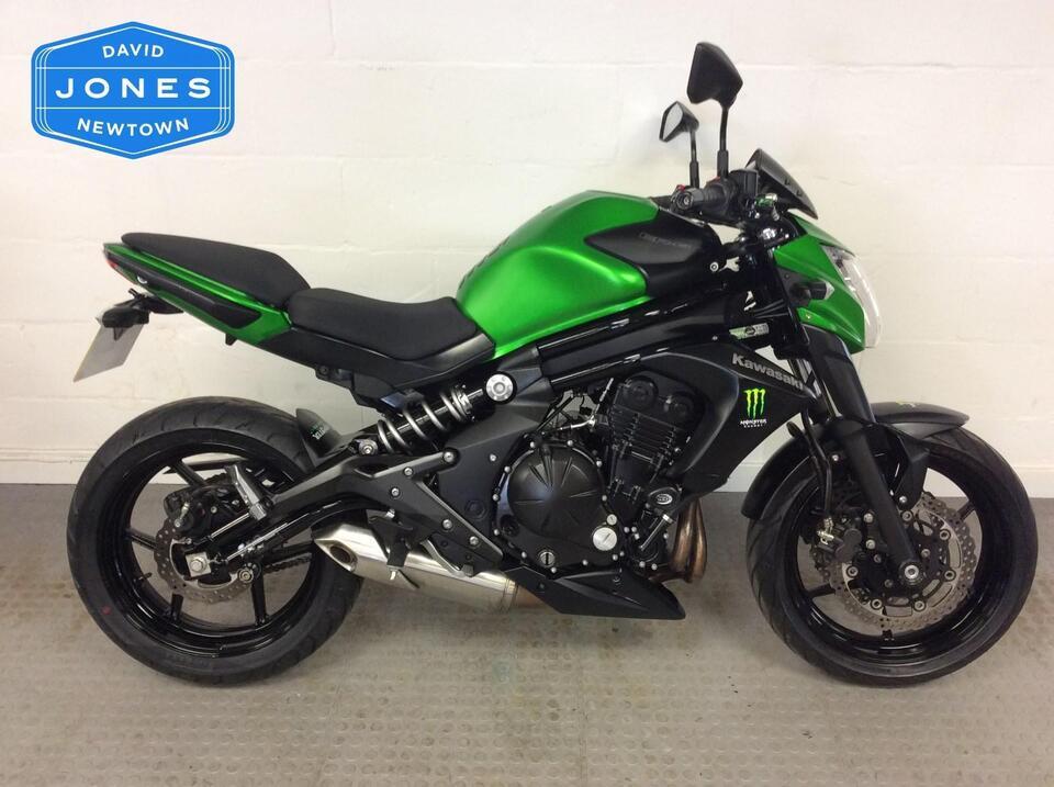 Kawasaki ER6N ER650 2014 / 64 Green