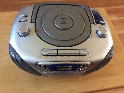 VINTAGE jWIN PORTABLE MP3 PLAYER CD CASSETTE RECORDER Jwin Mp3-player