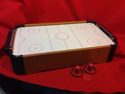 Cooperative 42 Air Powered Hockey Table Top Scoring 2 Pushers 100% High Quality Materials Air Hockey