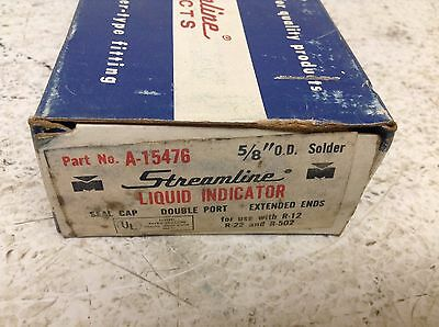 Streamline Mueller A-15476 58 Od Liquid Indicator Double Port A15476 New