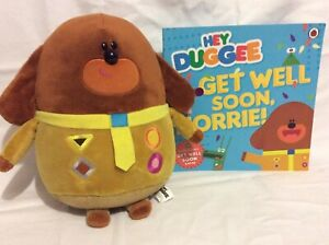 Hey Duggee talking plush toy and book Cairnlea Brimbank Area Preview