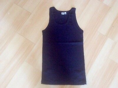 Petit Bateau Women's Dark Blue Cotton Sleeveless Tank Top Size L/20ANS