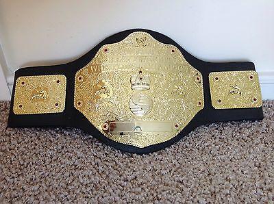 RARE 2003 WWE WCW HEAVYWEIGHT ATTITUDE CHAMPIONSHIP WRESTLING BELT ROLLINS Orton