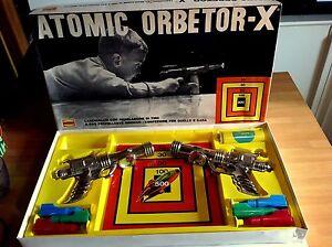 ATOMIC ORBETOR-X GIOCO TIRO A SEGNO SPAZIALE ANNI 60 DELLA GHERZI-OTTIMO!!!!! - Italia - ATOMIC ORBETOR-X GIOCO TIRO A SEGNO SPAZIALE ANNI 60 DELLA GHERZI-OTTIMO!!!!! - Italia
