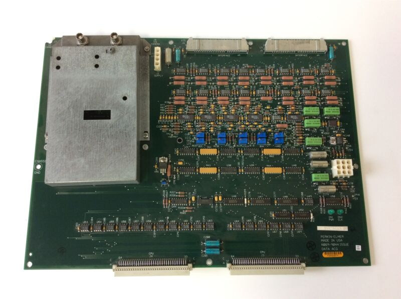 Perkin-Elmer N069-9044 Issue H Data Acquisition Circuit Board *See Details*
