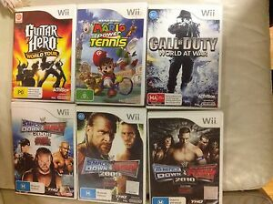 Wii games various Templestowe Manningham Area Preview