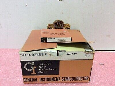 General Instruments 2n393 Vintage Transistors In Original Individual Packaging