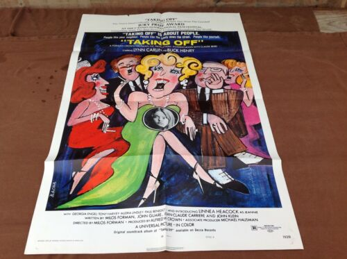1971 Taking Off Original Movie House Full Sheet Poster