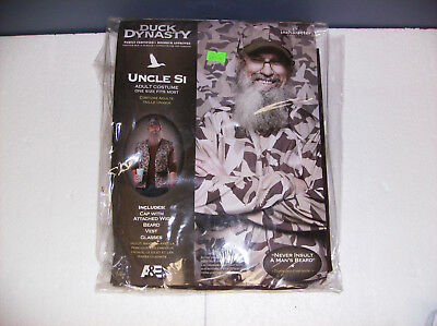 DUCK DYNASTY UNCLE SI MEN HALLOWEEN COSTUME ONE - Duck Dynasty Halloween Costumes Uncle Si