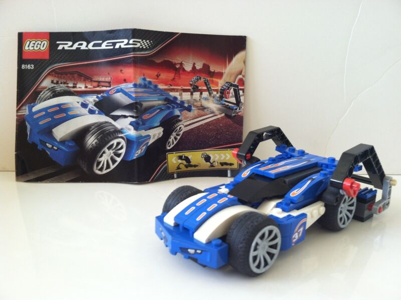 LEGO Racers: Blue Sprinter (8163) 100% Complete  + Instructions