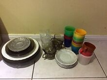 Assorted kitchen plates, cups and bowls. Bligh Park Hawkesbury Area Preview