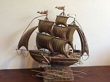 METAL SHIP. WIND UP PLAYS TUNE AS SHIP GOES UP AND DOWN Fennell Bay Lake Macquarie Area Preview