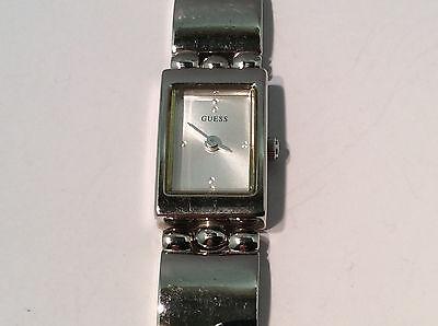 Guess G65041L Women's Watch SIlver Tone Analog Dial Silver Tone Case Band Quartz