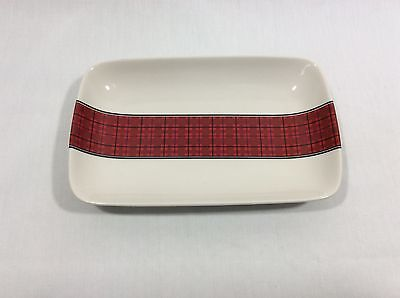 Holiday Candy Dish with Red Plaid Stripe – MSRF, Inc Design Studio Holiday Candy Dish