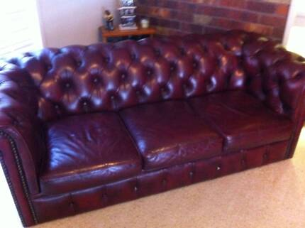 Chesterfield Lounge Suite 3 Seater Taylors Lakes Brimbank Area Preview