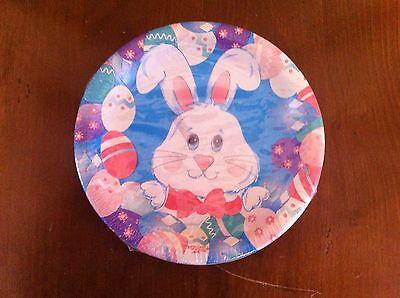 Vintage set of Paper Art brand Easter Bunny dessert plates new in package Kids - Halloween Art Paper Plates