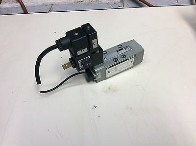 Bosch 0 820 022 041 Solenoid Operated Valve, 1 824 010 223 24/48V Coils, Used