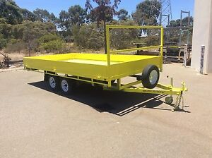 Flat top trailers all sizes made to order bosustow.com Jandakot Cockburn Area Preview