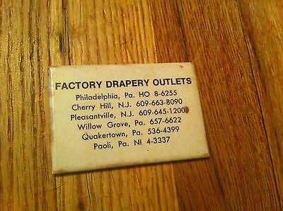 vintage pocket mirror Factory Drapery Outlet New Jersey Pennsylvania Cherry Hill ()