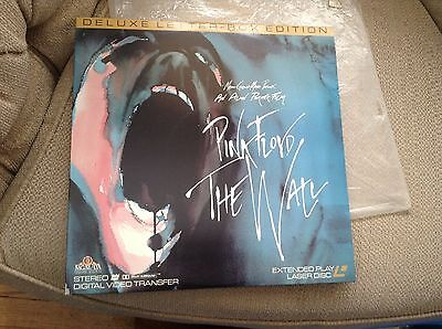 LOT of 2 Pink Floyd The Wall Laserdisc Laser Disc LETTERBOX