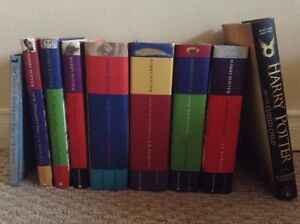 Harry Potter Complete Hardcover Book Set MOVING!