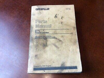 Cat Caterpillar 977l Parts Manual Book Catalog Track Loader