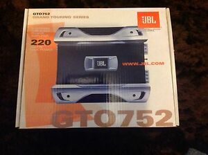 JBL Car Amplifier - GTO752 2 Channel - 220W Max  - NEW