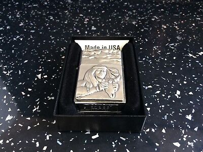Red Indian Buffalo zippo lighter superb quality.