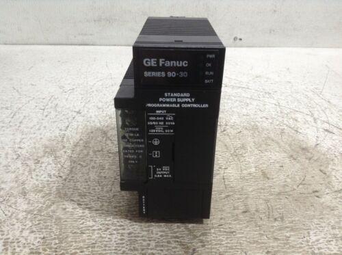 GE Fanuc IC693PWR321X Power Supply 90-30 100-240 VAC IC693PWR321 IC693