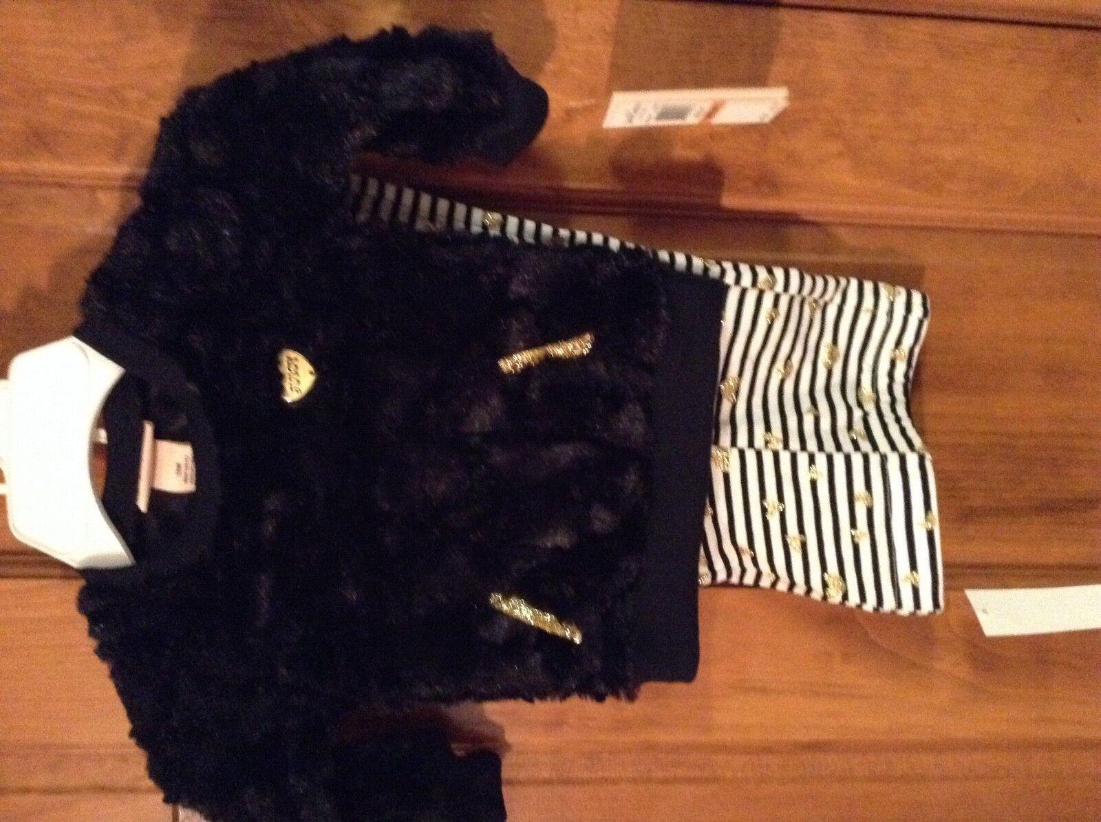 new baby girls 2 piece set size