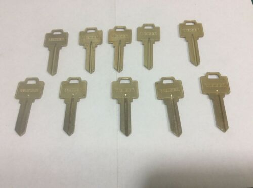 weiser Lock Key Blanks #1555N set 10, locksmith