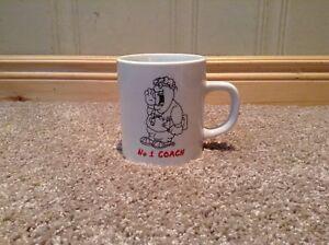 Number 1 Coach coffee mug