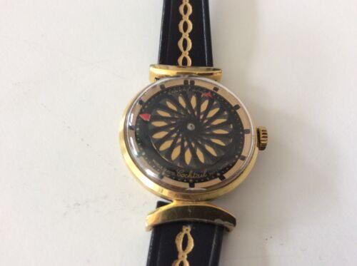 Running 1960's Ernest Borel Kalidoscope Cocktail Women's Mechanical Watch