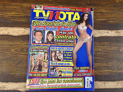 TV NOTAS MEXICAN MAGAZINE JULY 2008 ELISA MISS UNIVERSO