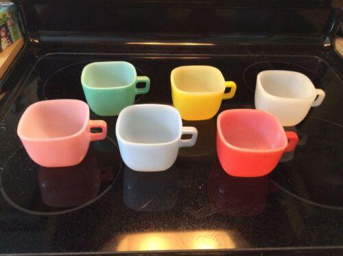 GLASBAKE 6 LIPTON SQUARE CUPS / MUGS