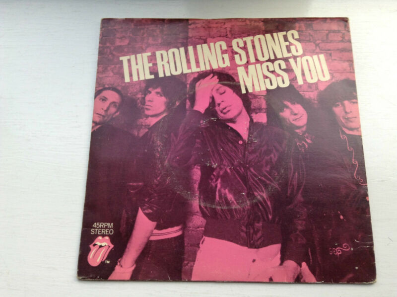 "Rolling Stones - Missing You / Far Away Eyes  7"" (1978)"