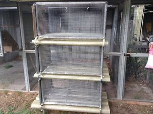 Three tiered rabbit breeding cage Londonderry Penrith Area Preview