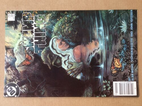 Swamp Thing 34 FN+  First Print Alan Moore Stephen Bissette DC Comics