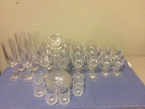 Crystal Glasses and Decanter Evanston Gawler Area Preview