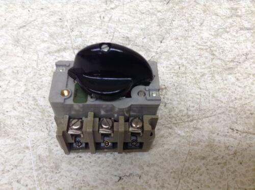 Elektra EEC AEG 5041 MOB 0.4-0.6 Amp Manual Motor Starter Tailfingen 5041MOB